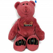 """Buy Limited Treasures San Francisco 49ers Steve Young Red Teddy Bear Plush 1998 10"""""""