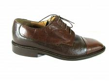 Buy Steeple Gate Brown Two Tone Leather Lace Up Dress Oxfords Shoes Men's 8 (SM1)
