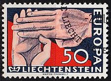 Buy LIECHTENSTEIN [1962] MiNr 0418 ( O/used ) CEPT