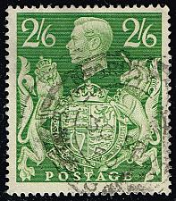 Buy Great Britain #249A King George VI & Royal Arms; Used (1.50) (2Stars) |GBR0249A-03XRS