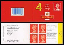 Buy Great Britain #BK996 Machin Booklet Pane of 4; MNH (6.50) (4Stars) |GBRBK0996-01XVA
