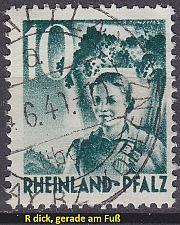 Buy GERMANY Alliiert Franz. Zone [RheinlPfalz] MiNr 0037 y a I ( O/used )