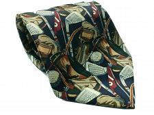 Buy Bijoux Terner Golf Ball Club Bag All Over Print Novelty Silk Necktie