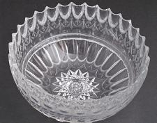 Buy Mouth blown blank hand Cut & polished Glass bowl ABP