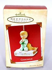Buy Hallmark Keepsake Christmas Ornament Godchild 2002