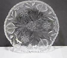 Buy ABP cut glass low bowl Murillo Pairpoint Butterfly ANTIQUE C1