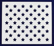 "Buy 50 Star Field Stencil 14 Mil-9.75"" x 8.25"" - Painting /Crafts/ Templates"