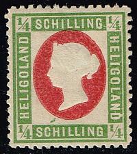 Buy Heligoland #8 Queen Victoria - Leipzig Reprint; Unused (4Stars) |HEL08R-02XRS
