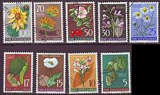 Buy JUGOSLAVIA [1955] MiNr 0765-73 ( O/used ) Blumen