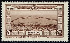 Buy French Morocco #CB8 Aerial View of Casablanca; Unused (2Stars)  FRMCB08-01XRP