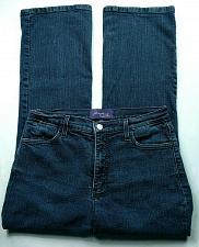 Buy NYDJ Women's Sarah Classic Boot Cut Jeans Size 10P Stretch Dark Wash Lift Tuck