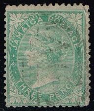 Buy Jamaica #9 Queen Victoria; Used (9.25) (0Stars) |JAM0009-01
