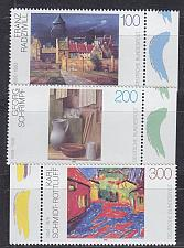 Buy GERMANY BUND [1995] MiNr 1774-76 ( **/mnh ) Kunst