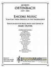 Buy Offenbach - Encore Music (Brass Band)
