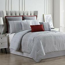 Buy New Queen Size 8 Piece Bedding Comforter Set Shams Pillows Bed Decorative Decor
