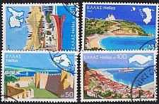 Buy GRIECHENLAND GREECE [1976] MiNr 1246-49 ( O/used ) Landschaft sehr schön