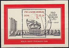 Buy GERMANY DDR [1987] MiNr 3123 Block 89 ( OO/used )