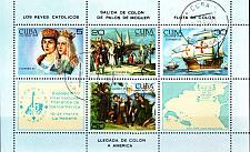 Buy KUBA CUBA [1984] MiNr 2894-97 Block 86 ( O/used )