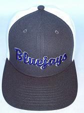 Buy Westminster College Fulton Bluejays Men's Blue Gray White Trucker Hat One Size