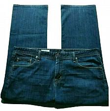 Buy AG Adriano Goldschmied The Protege Jeans Straight Leg 40 X 32 Stretch Dark Wash