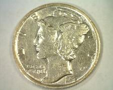 Buy 1938 MERCURY DIME ABOUT UNCIRCULATED+ AU+ NICE ORIGINAL COIN FROM BOBS COINS