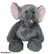 "Buy Leader Light Vibrating Massage Gray Elephant Plush Stuffed Animal 14"""