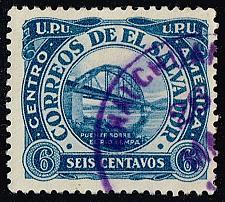 Buy El Salvador #499 Bridge over Lempa River; Used (3Stars) |ELS0499-07