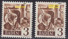 Buy GERMANY Alliiert Franz. Zone [Baden] MiNr 0002 yv I,II ( **/mnh ) [01]