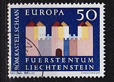 Buy LIECHTENSTEIN [1964] MiNr 0444 ( O/used ) CEPT