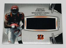 Buy NFL MOHAMED SANU BENGALS 2012 BOWMAN STERLING JUMBO GAME-WORN JERSEY MNT