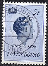 Buy LUXEMBURG LUXEMBOURG [1959] MiNr 0603 ( O/used )