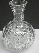 Buy Carafe American Brilliant Period hand Cut Glass antique ABP Wine