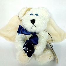 "Buy NWT Boyds Bears Galaxy Jointed Teddy Bear Angel Christmas Ornament 7.5"""