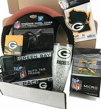 Buy NFL Green Bay Packers crate box gift set Shirts, Hats, Watches, Socks Free Ship