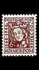 Buy GERMANY Alliiert AmBri [1948] MiNr 0069 WA ( **/mnh )
