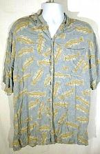 Buy Columbia Men's Shirt Large Fish Graphic Button Down Short Sleeve