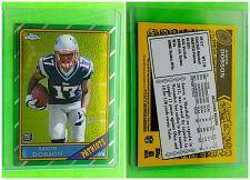 Buy NFL AARON DOBSON NEW ENGLAND PATRIOTS 2013 TOPPS CHROME ROOKIE INSERT #16 MNT
