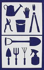 "Buy Gardening Stencils 2 Piece Set - 14 Mil -8"" X 10"" - Painting /Crafts/ Templates"