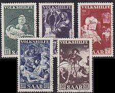Buy GERMANY Saar [1951] MiNr 0309-13 ( O/used )