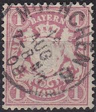 Buy GERMANY Bayern Bavaria [1881] MiNr 0053 x a ( O/used )