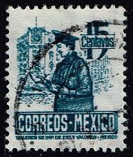 Buy Mexico #825 Postman; Used (0.25) (3Stars) |MEX0825-08XRS
