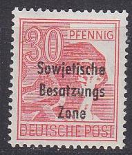 Buy GERMANY Alliiert SBZ [Allgemein] MiNr 0192 ( **/mnh )