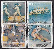 Buy GERMANY BUND [1992] MiNr 1592-95 ( O/used ) Sport