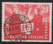 Buy GERMANY DDR [1951] MiNr 0284 ( OO/used ) [03]