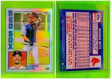Buy MLB MOOKIE BETTS BOSTON RED SOX 2019 TOPPS CHROME REFRACTOR #84TC-20 MNT