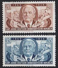 Buy GERMANY DDR [1954] MiNr 0443-44 ( **/mnh )