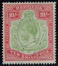 Buy Bermuda #53 King George V; Used (4Stars) |BER0053-01XRP