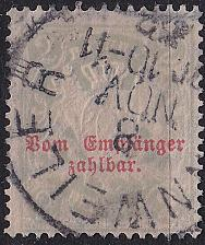 Buy GERMANY Bayern Bavaria [Porto] MiNr 0013 B y ( O/used )