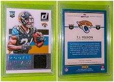 Buy NFL TJ yeldon Jacksonville jaguars 2015 Panini Rookie Threads Jersey Mint