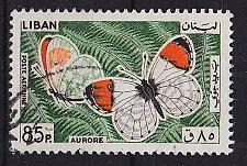 Buy LIBANON LEBANON LIBAN [1965] MiNr 0905 ( O/used ) Schmetterlinge